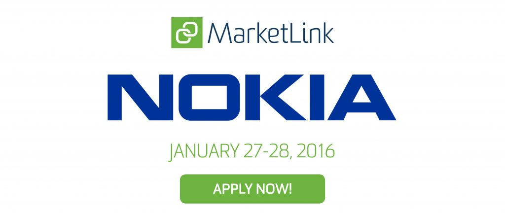 Nokia MarketLink - Apply Now!